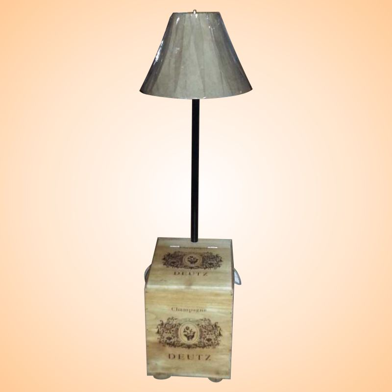Champagne Box Lamp