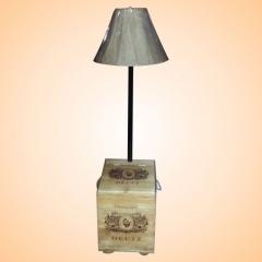 Champagne Box Lamp
