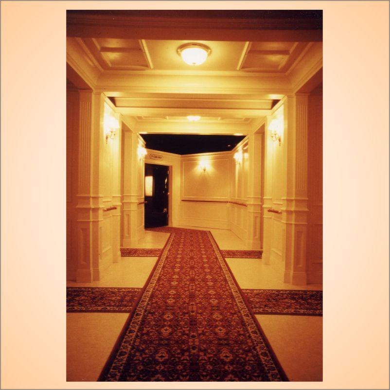 First Clase Hallway