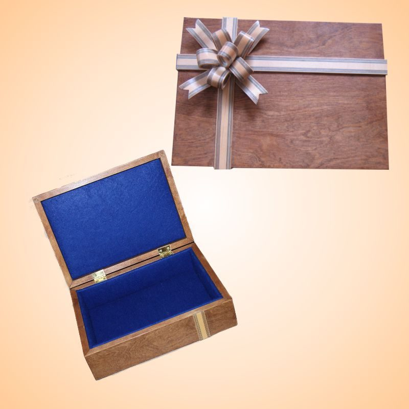 Blue Bow Box