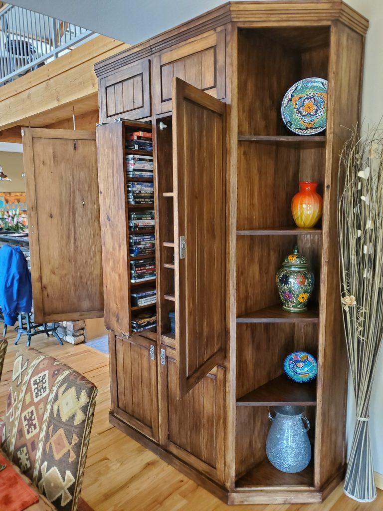 cabinet restored